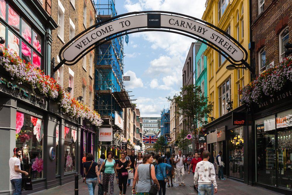 Carnaby Street Soho London