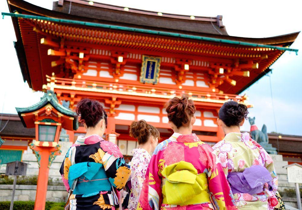 kimono pictorial