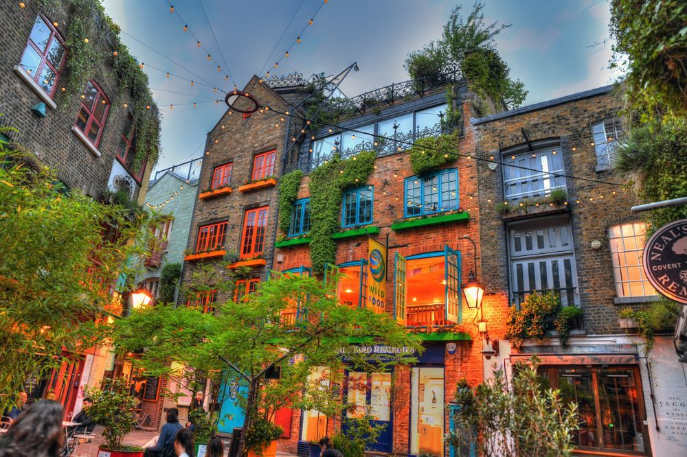 Neal's Yard enclave