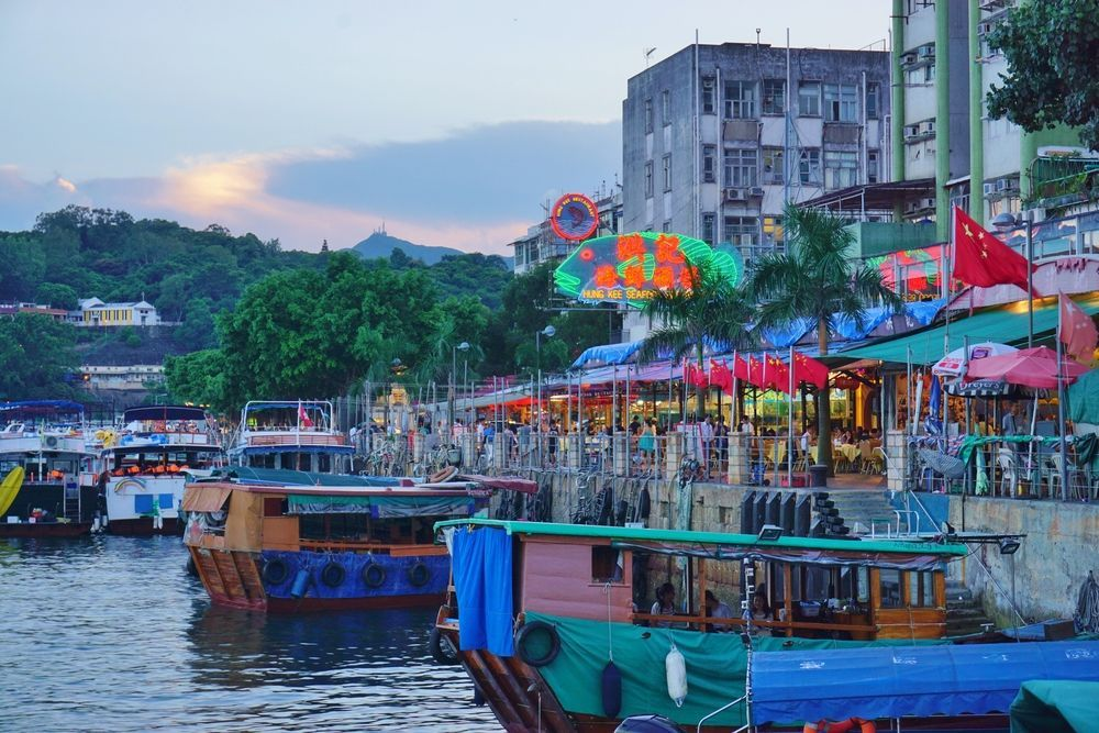 Sai Kung town center