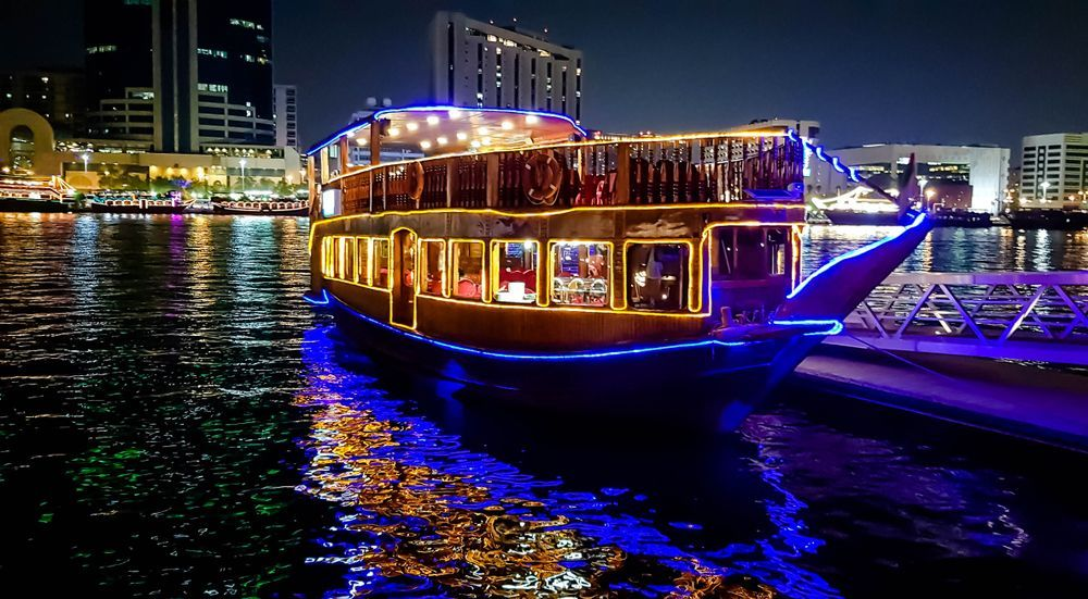 Dhow Marina Dinner Cruise