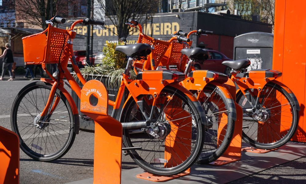Portland bike share program