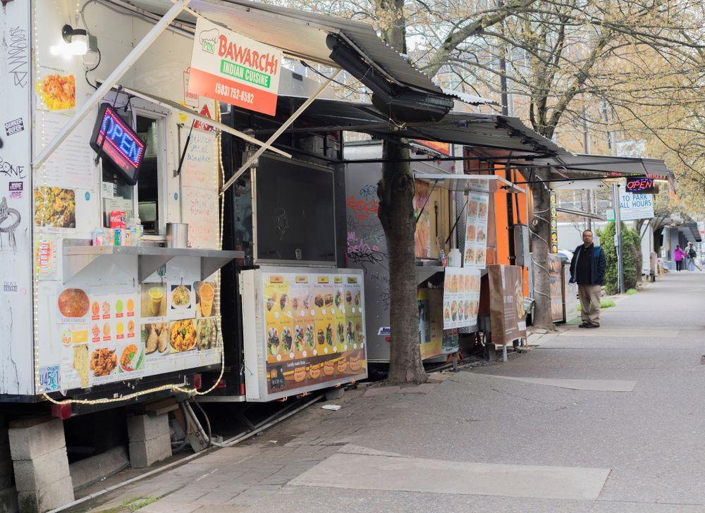 food truck pod
