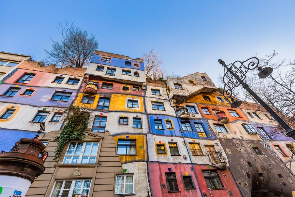 the Hundertwasser House