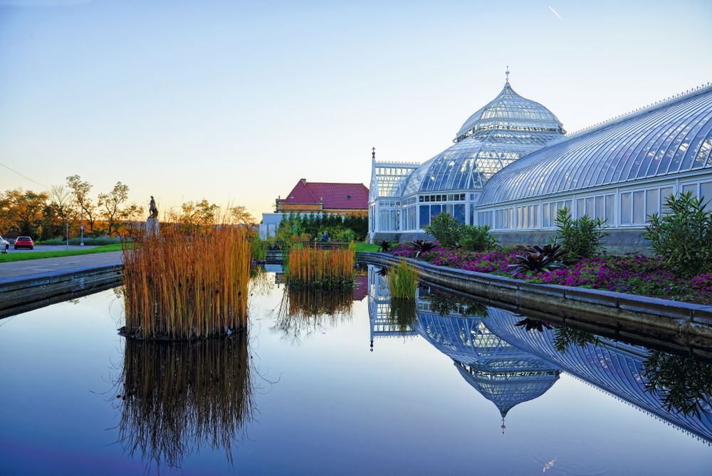 the Phipps Conservatory