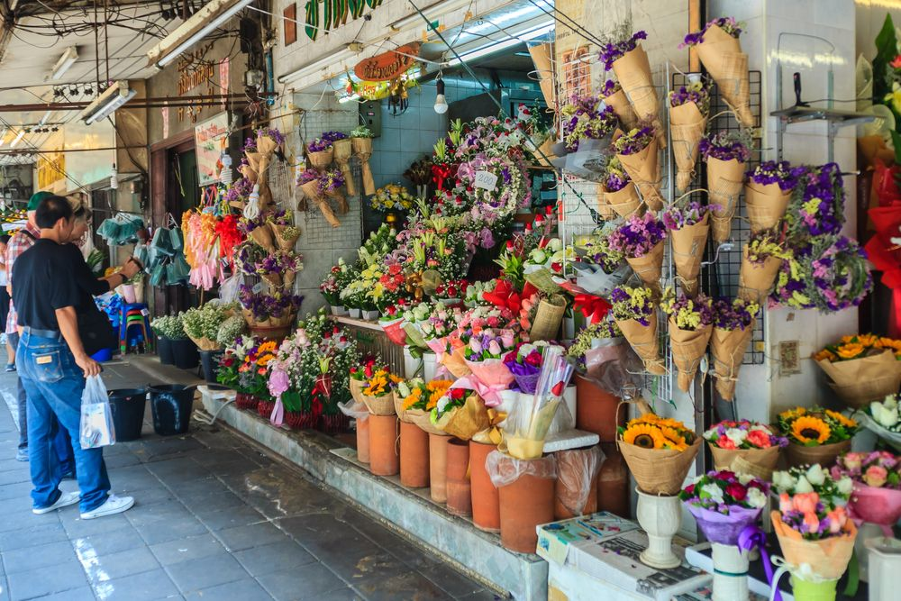 Pak Klong Flower Market