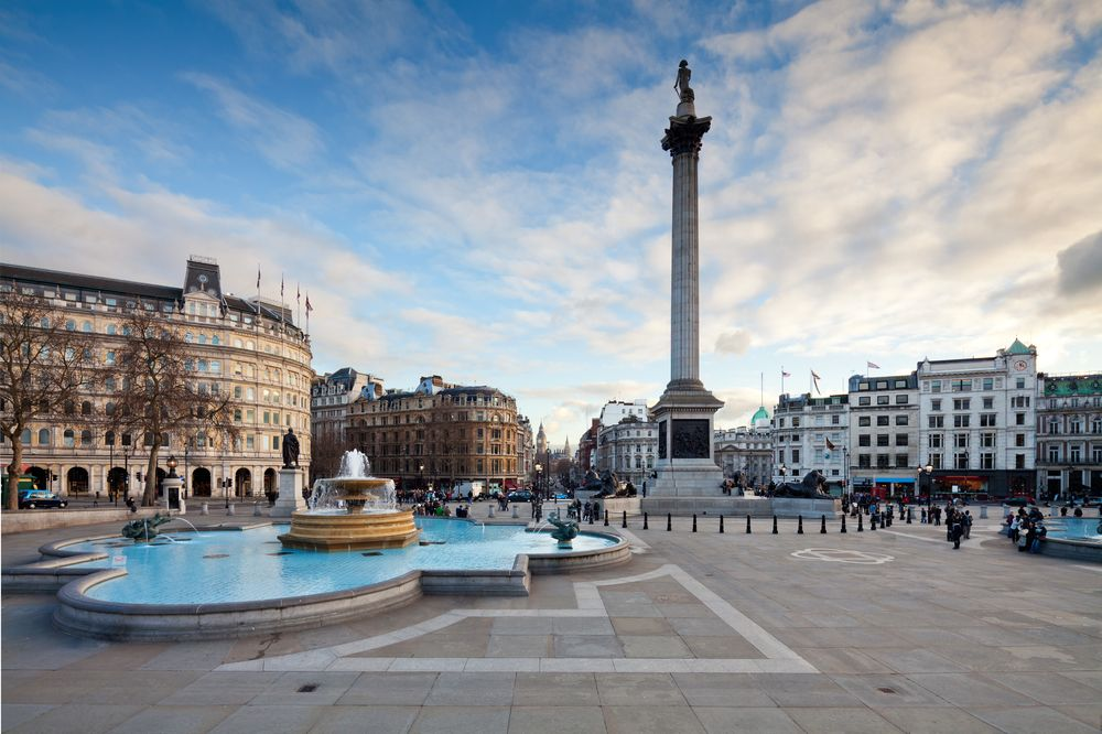 Trafalgar Square Westminster London
