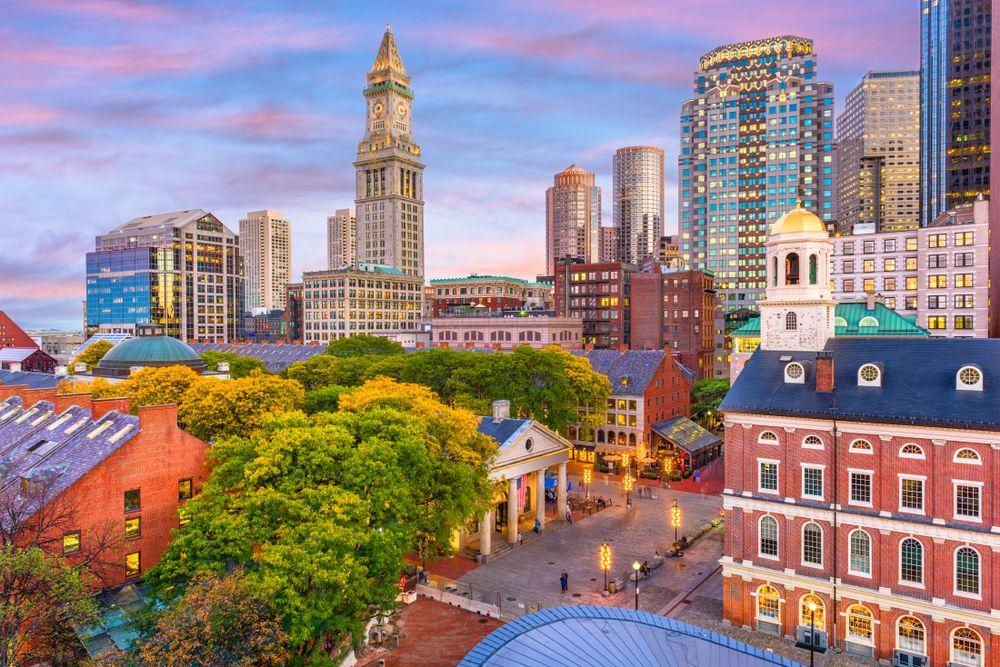 Downtown Area Boston