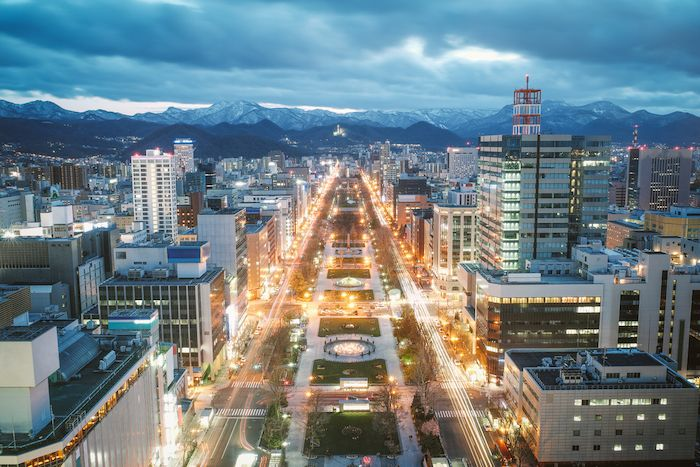Sapporo TV Tower view