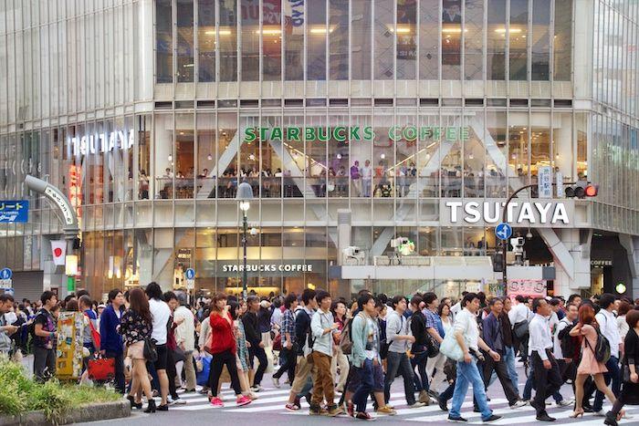 Shibuya Crossing Starbucks