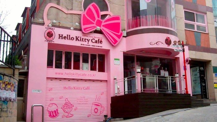 Hello Kitty Cafe Hongdae