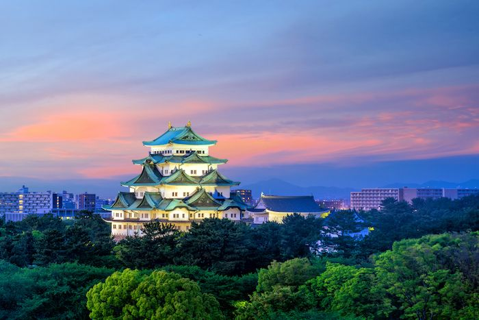 Nagoya Castle Area