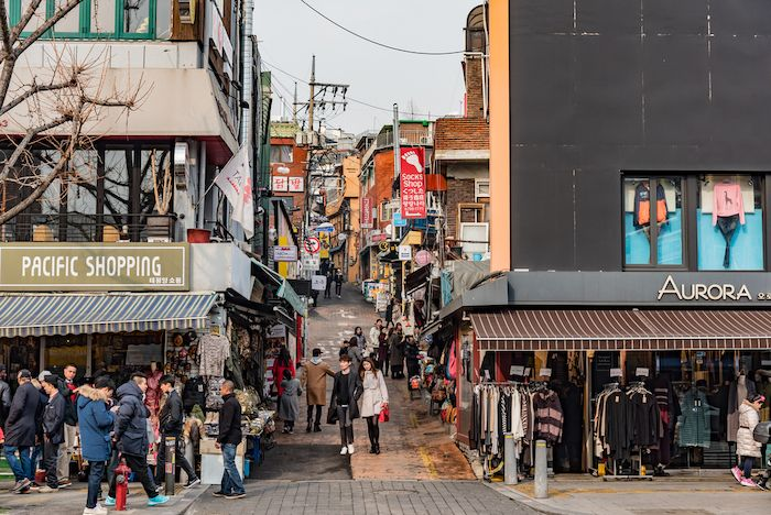 Itaewon Shops