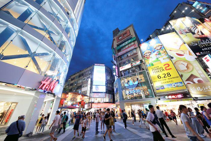 Ximending Shopping