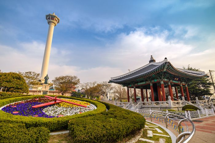 Busan Tower at Yongdusan Park