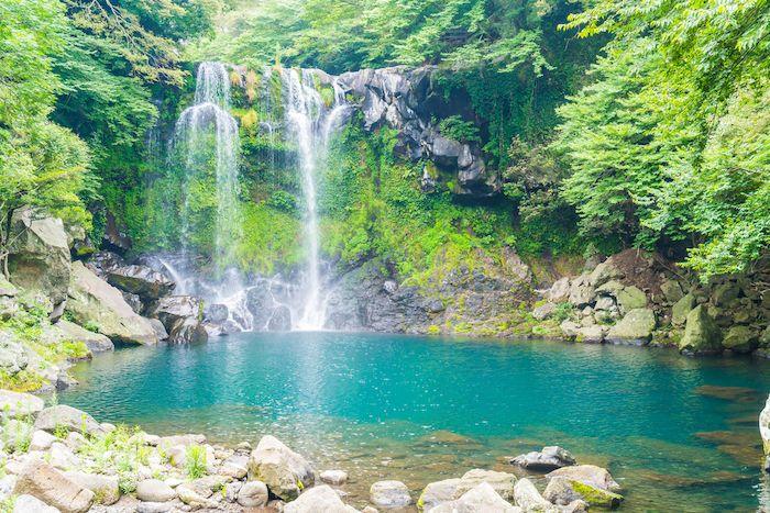 Cheonjeyeon Waterfall