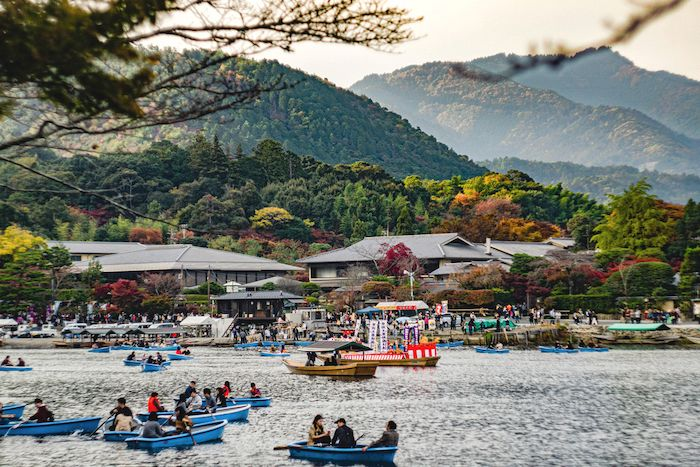 Hozugawa Riverboat cruise