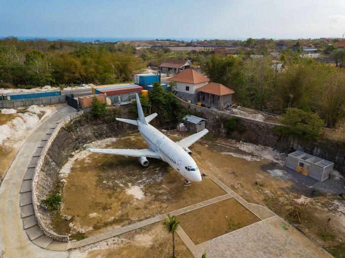 Kuta Abandoned Plane