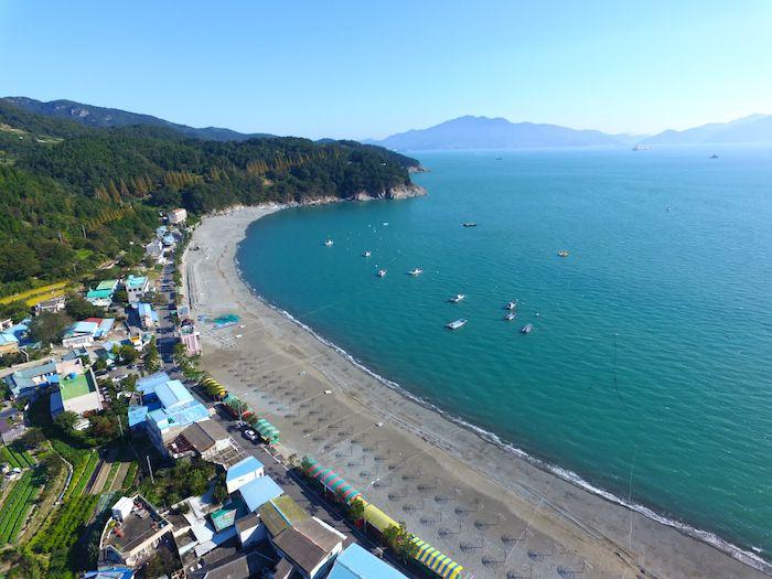 Manseongri beach