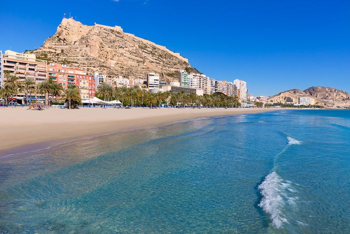 Postiguet Beach Alicante
