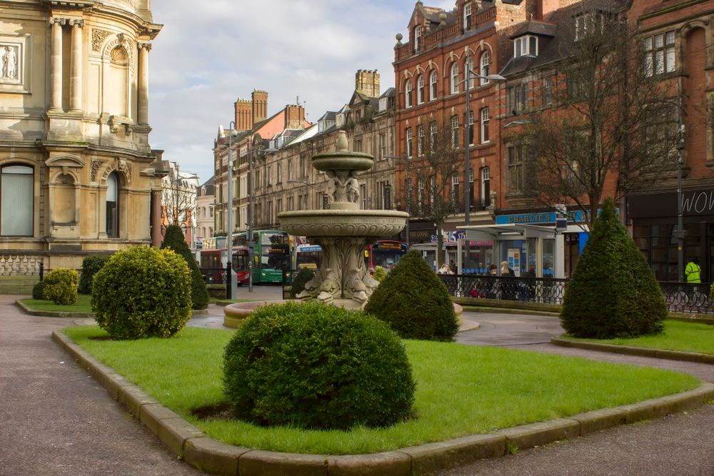 Wolverhampton town center