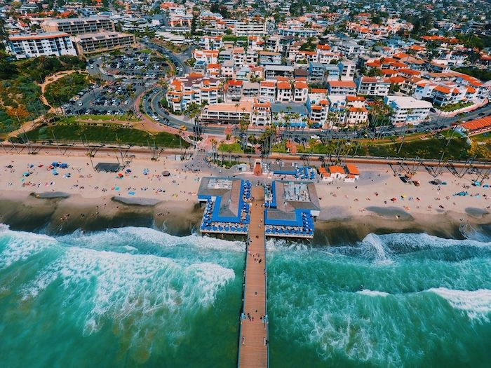 San Clemente from above