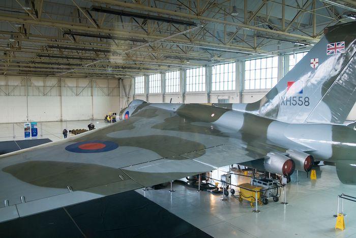 Vulcan Bomber at Robin hood Airport