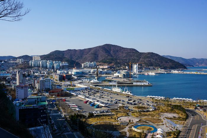 Yeosu skyline