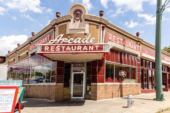 The Arcade Restaurant Memphis