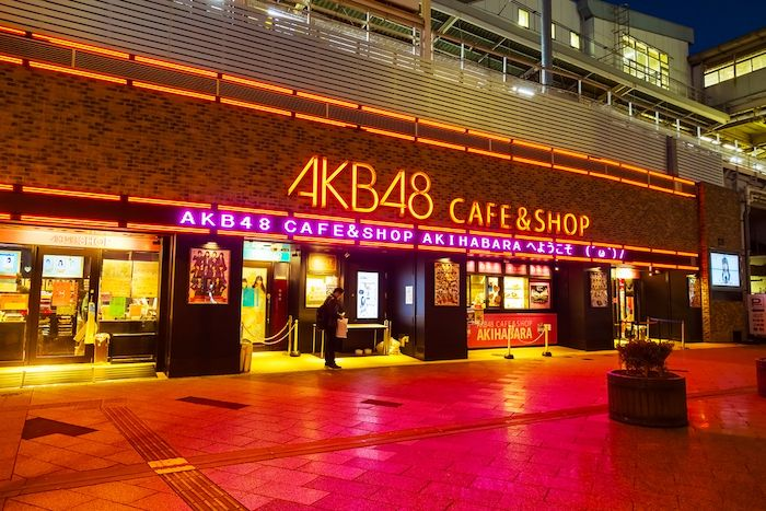 AKB48 café