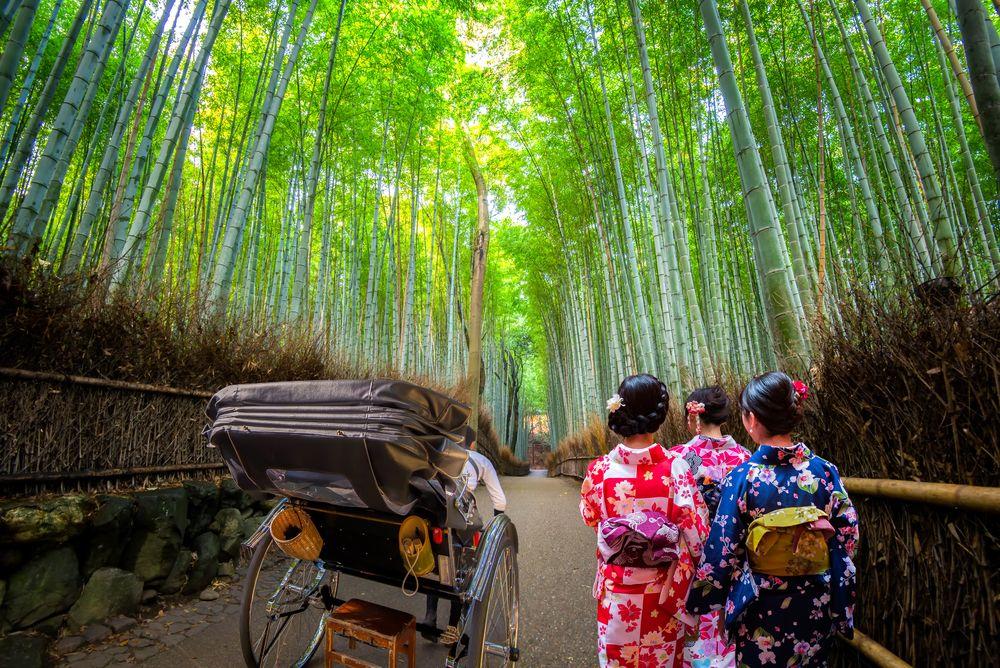 Arashiyama rickshaw