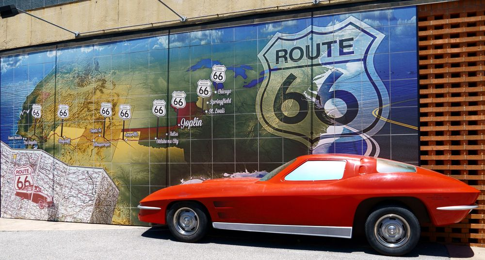 Route 66 Mural Park