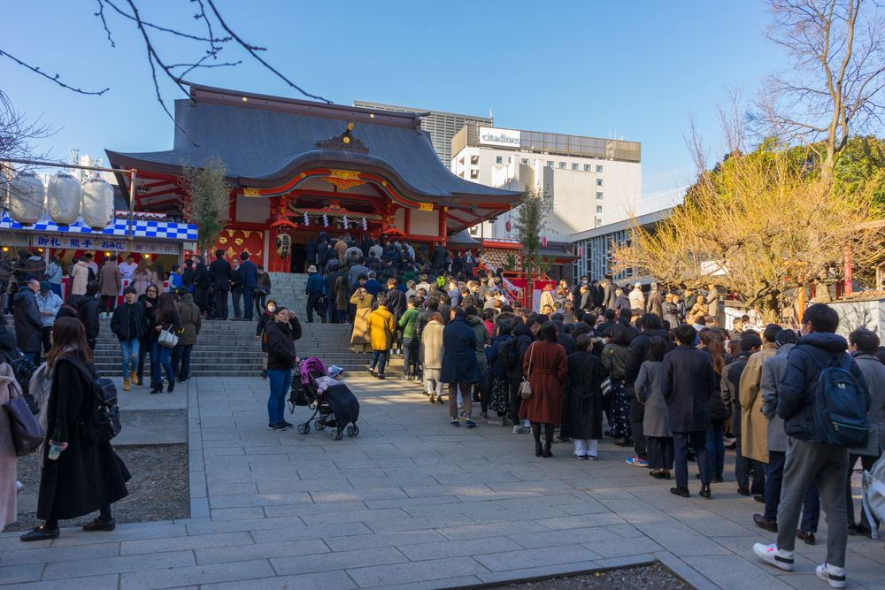 Hanazono-jinja Shrine