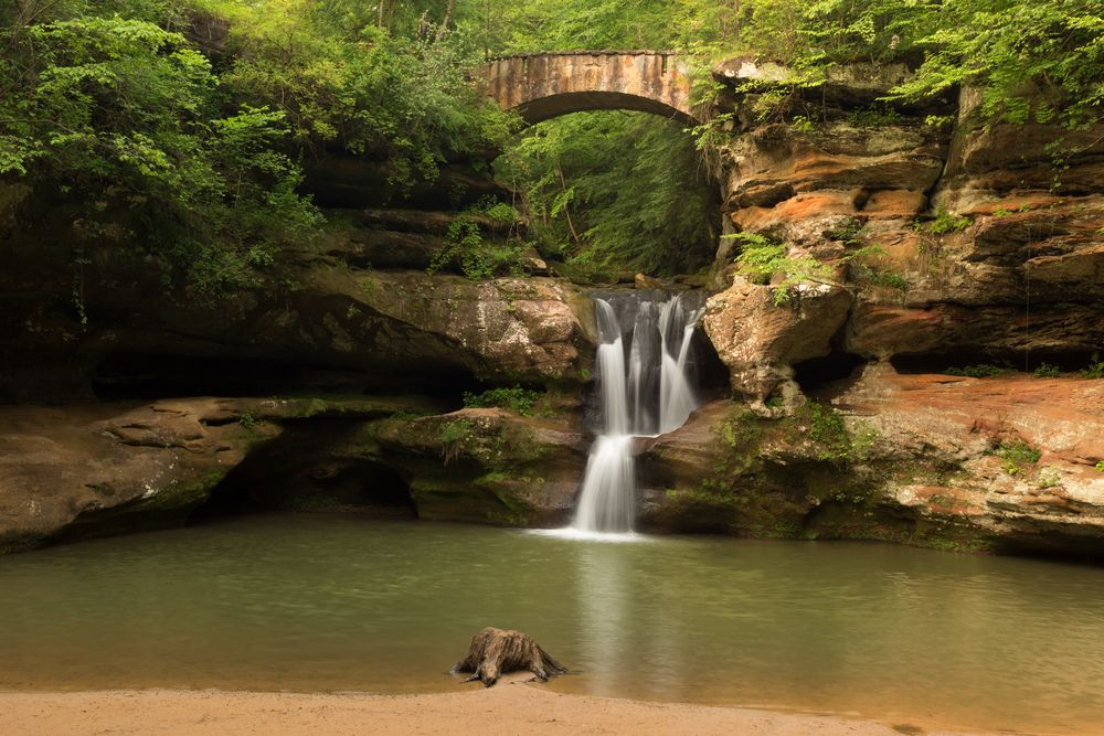 Old Man's Cave Hocking Hills Athens