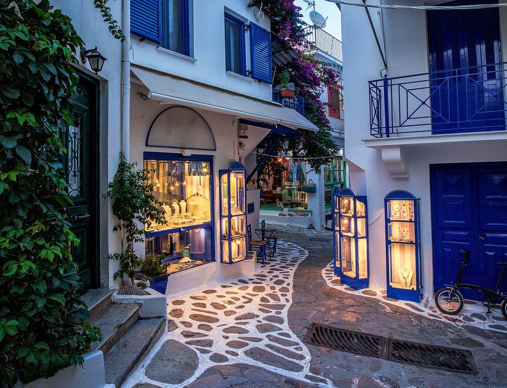 Old Town Skiathos