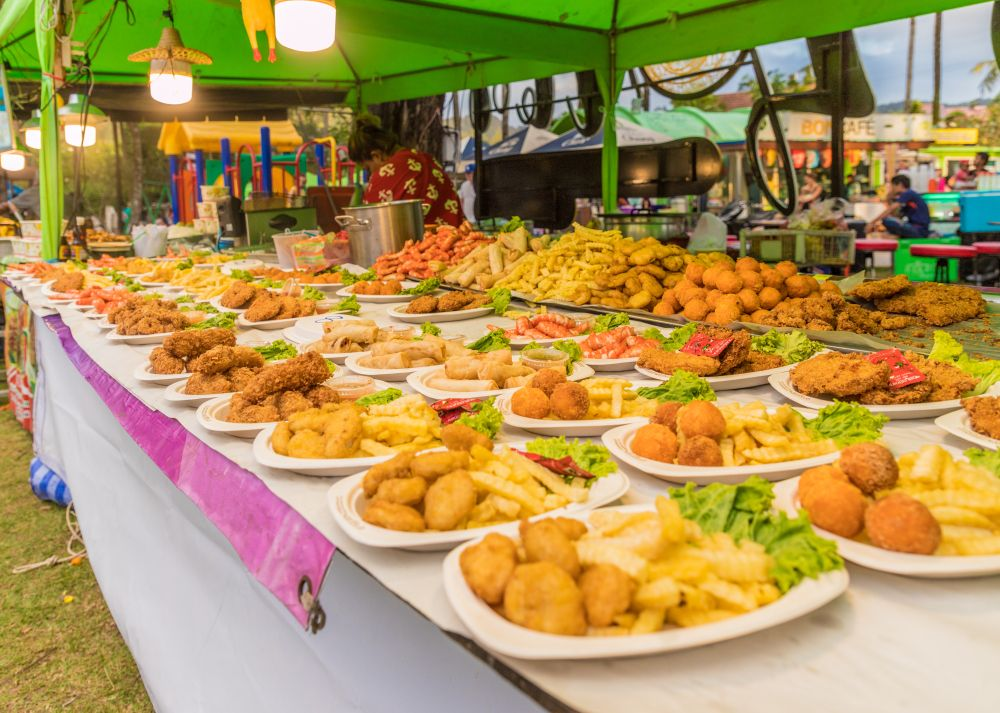 street food in karon beach