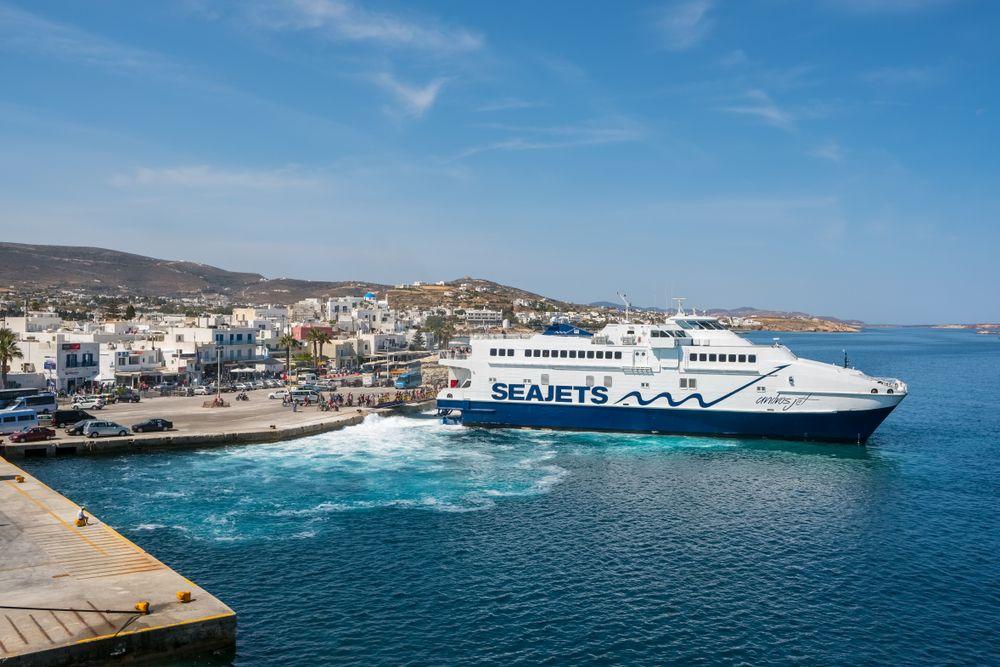 Paros to santorini ferry