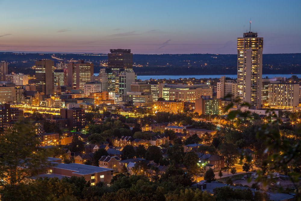 Hamilton skyline