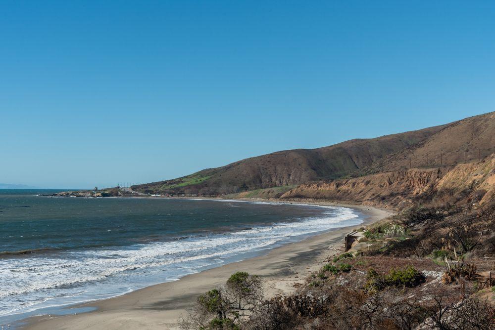 The Nicholas Canyon Beach