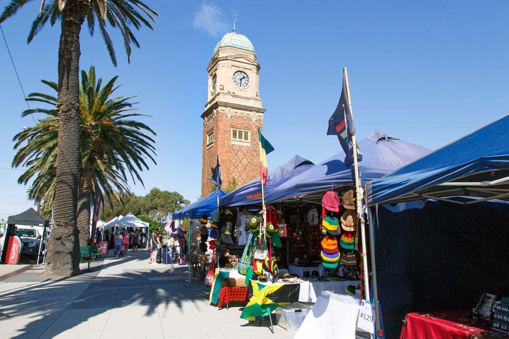 St Kilda Esplanade Sunday Market
