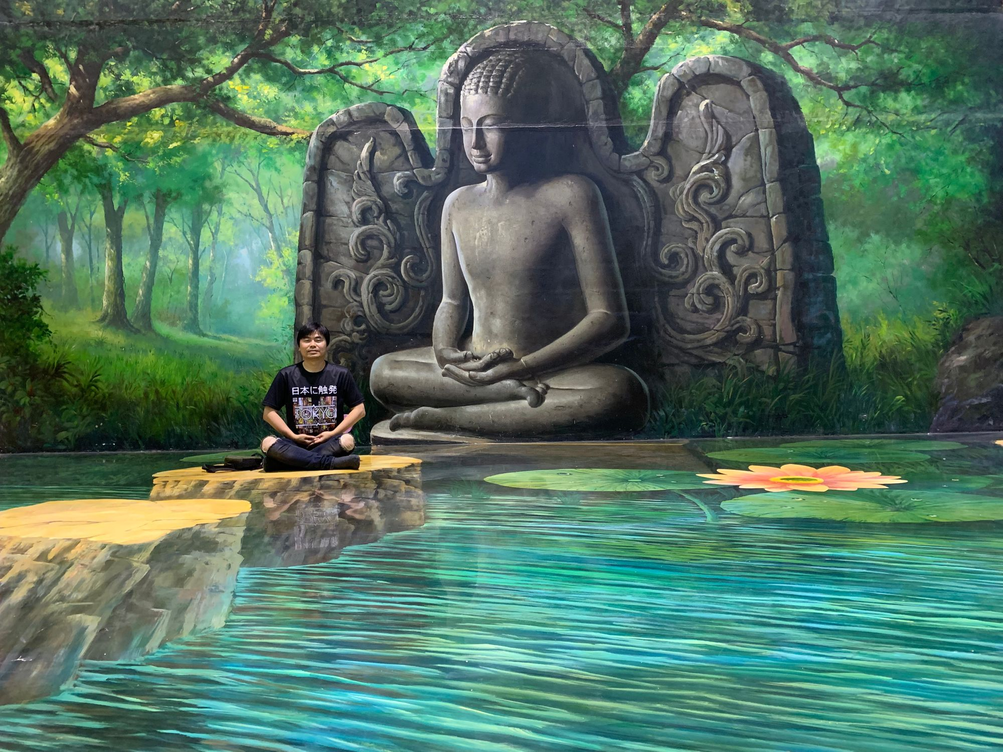 3D Buddha painting from Art in Paradise