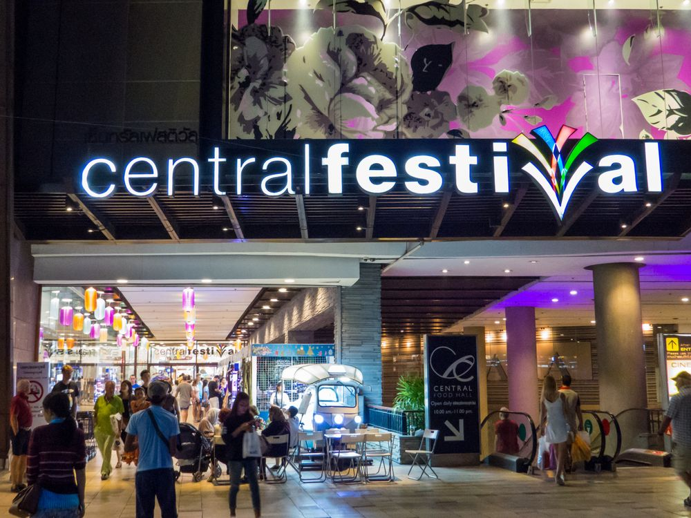 Central Festival Mall, Pattaya