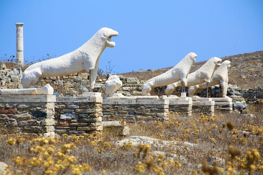 Ruins in Delos
