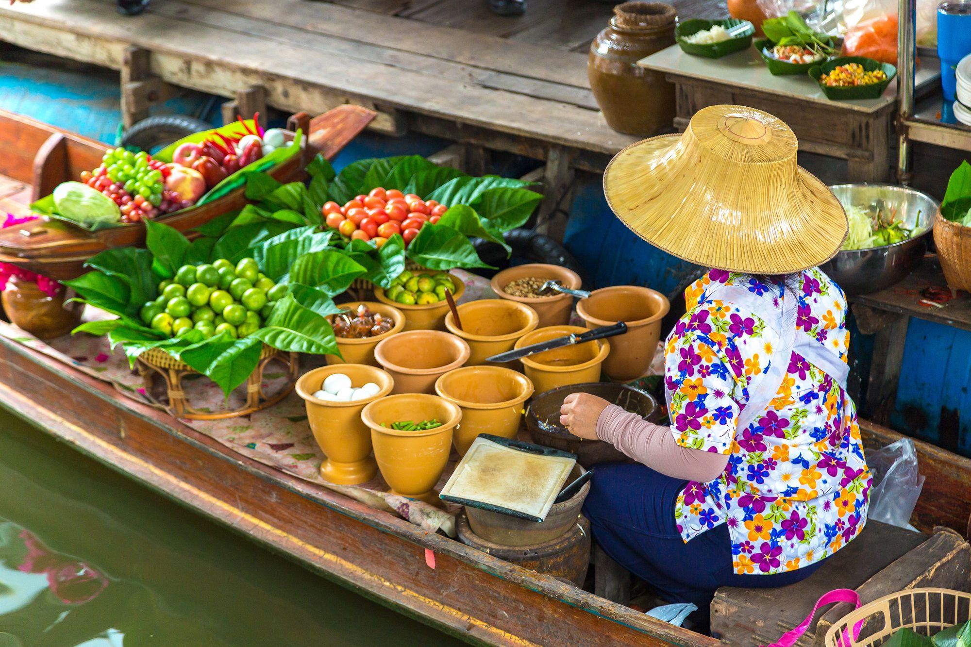 Floating Market, Pattaya