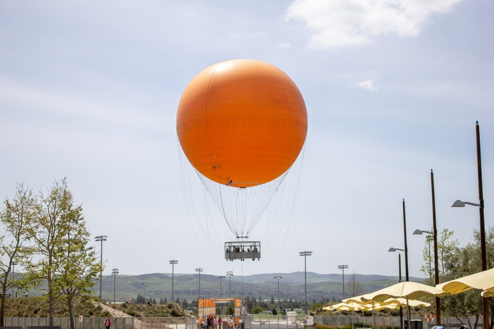 The Great Park Balloon Ride