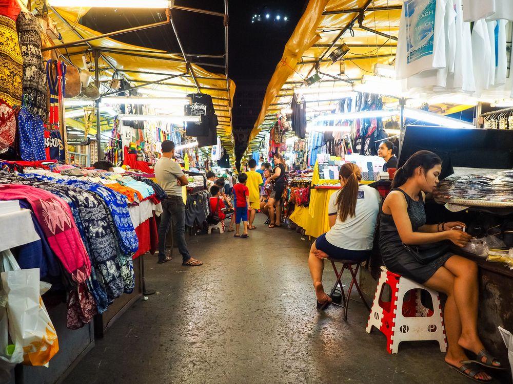 Night Bazaar in Pattaya