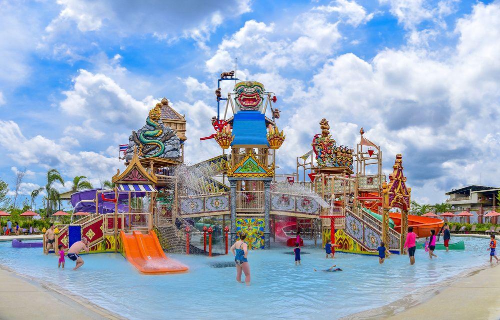 Water ride in RamaYana water park, Pattaya