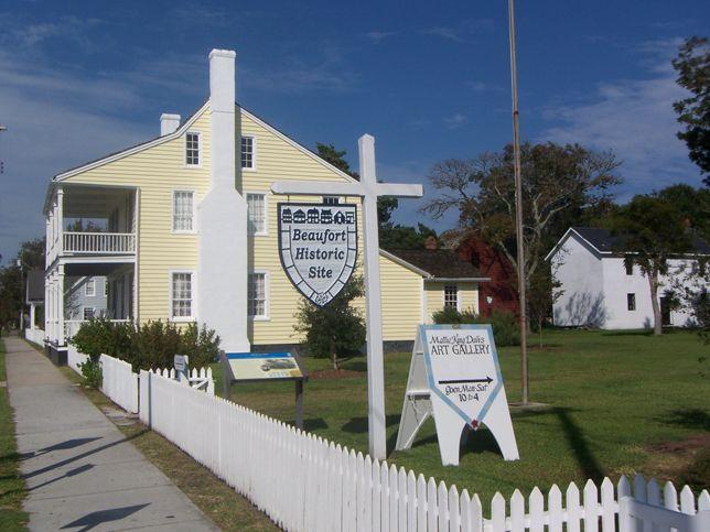 Beaufort Historic site