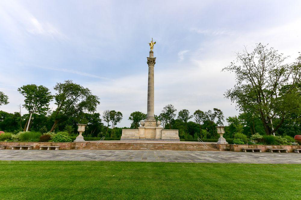 Bronx Victory Memorial in Pelham Bay Park