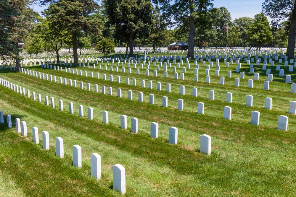 Camp Butler cemetery